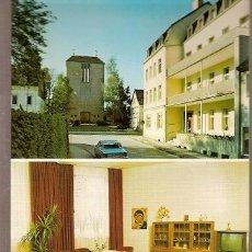 Postales: ALEMANIA & CIRCULADO, SALUDOS DE BAD MARIENHEIM, BAD MEINBERG, HERFORD A LIPPSTADT 1985 (9988). Lote 179053445