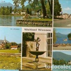Postales: ALEMANIA & CIRCULADO, SALUDOS DE BAD WIESSEE AM TEGERNSEE, SYKE (45). Lote 179188063