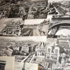 Postales: LOTE 75 POSTALES DE PARIS - BLANCO/NEGRO. Lote 179200137