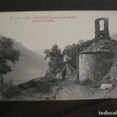 Postales: ANDORRA LA VELLA-CAPELLA DE SANT ANDREU-ATV 2274-POSTAL ANTIGUA-VER FOTOS-(63.146). Lote 179314505
