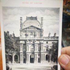 Postales: POSTAL MUSEO DE LOUVRE PAVELLON RICHELIEU. Lote 179667405