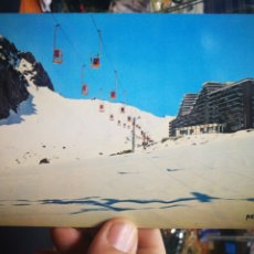 Postales: POSTAL LES PYRENEES SOUS LA NEIGE K.253 LA MONGIE. Lote 179715647