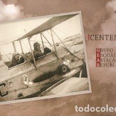 Postales: PORTUGAL ** & I.P, CENTENARIO DEL GRUPO DE ESCUADRÓN DE AVIACIÓN PORTUGUESA 1919-2019 (6621). Lote 180026238