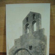 Postales: LE PERTHUS , RUINAS DE LA IGLESIA - SIN CIRCULAR ED. QUERA. Lote 180093423