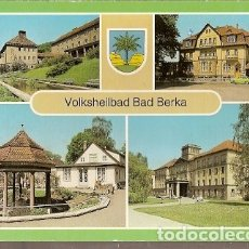 Postales: ALEMANIA & CIRCULADO, SALUDOS DE VOLKSHEILBAD BAD BERKA, MULTI (4880) . Lote 180247875