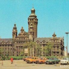 Postales: LEIPZIG (ALEMÀNIA), NUEVO AYUNTAMIENTO - WOLF - SIN CIRCULAR. Lote 180387347