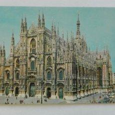 Postales: POSTAL DE MILAN ( ITALIA ): EL DUOMO, LA CATEDRAL. Lote 180412461