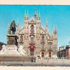 Postales: POSTAL IL DUOMO. MILAN (ITALIA). Lote 180422341