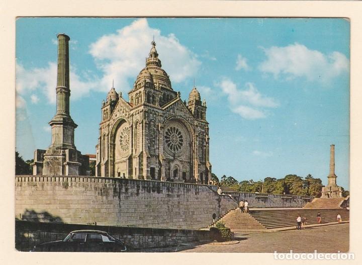 POSTAL IGLESIA DEL MONTE DE SANTA LUCIA. VIANA DO CASTELO (PORTUGAL) (Postales - Postales Extranjero - Europa)