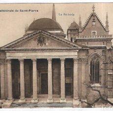 Postales: POSTAL SUIZA - GINEBRA. GENEVE. CATHEDRALE DE SAINT-PIERRE. LE PERISTYLE.. Lote 180921593