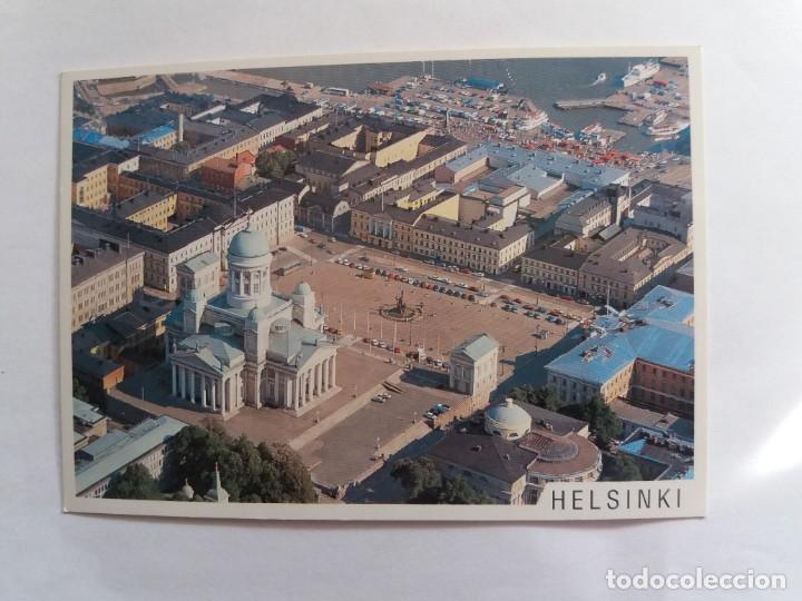 TARJETA POSTAL - HELSINKI SUOMI - FINLAND - CATEDRAL (Postales - Postales Extranjero - Europa)