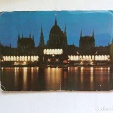 Postales: TARJETA POSTAL - BUDAPEST - PARLAMENT. Lote 180935973