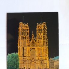 Postales: TARJETA POSTAL - BRUSSEL - CATHEDRALE ST. MICHEL - CATEDRAL ST. MICHEL. Lote 181006965