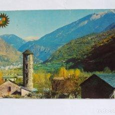 Postales: TARJETA POSTAL - PRINCIPAT D'ANDORRA - SANTA COLOMA ANDORRA - IGLESIA ROMANICA. Lote 182014763