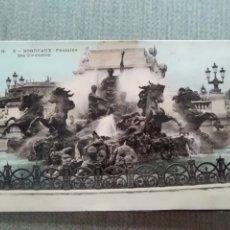 Postales: POSTAL BORDEAUX - FONTAINE DES GIRONDINS. Lote 182164232