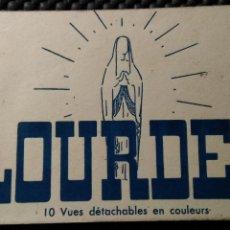 Postales: LOURDES ,. 10 POSTALES / 10 VUES DETACHABLES EN COULEURS / EDIT. P. DOUCET. Lote 182178771