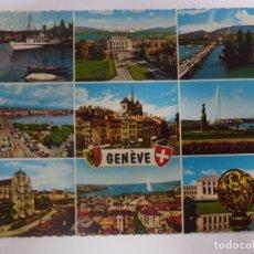 Postales: POSTAL. GENÈVE. GINEBRA. SUIZA. ESCRITA. . Lote 182562811