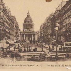 Postales: FRANCIA PARIS EL PANTEON. TRANVIAS POSTAL NO CIRCULADA . Lote 182591717