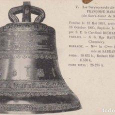 Postales: FRANCIA PARIS MONTMARTRE LA CAMPANA POSTAL NO CIRCULADA . Lote 182592382