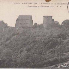 Postales: FRANCIA CHEVREUSE CASTILLO DE LA MADELEINE 1910 POSTAL CIRCULADA . Lote 182592596