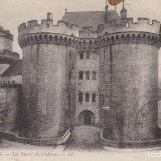 Postales: FRANCIA ALENÇON LA TORRE DEL CASTILLO 1910 POSTAL CIRCULADA . Lote 182592698