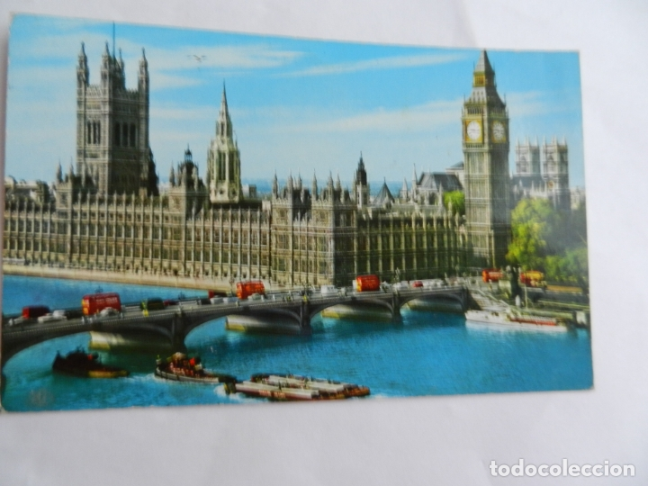 POSTAL LONDON - THE HOUSES OF PARLIAMENT - CIRCULADA - 1967. (Postales - Postales Extranjero - Europa)