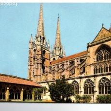 Postales: POSTAL, BAYONNE, LA CLOITRE ET LA CATHEDRALE, CIRCULADA. Lote 182707251