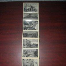 Postales: 9 FOTOGRAFIAS AÑOS 60 DE VENEZIA -ITALIA - LIBRETO ACORDEON. FORMATO 9 X 6 CM - VER FOTOS DETALLES. Lote 182724542