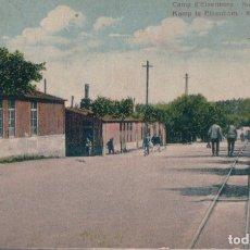 Postales: BELGICA CPA DU CAMP D´ELSENBORN AVENUE DU ROI ALBERT- KONING ALBERT LEI. Lote 182746315