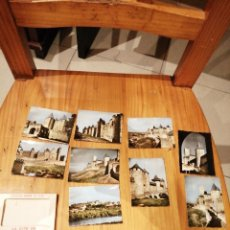 Postales: CARPETA CON 9 MINI POSTALES DE CARCASSONNE A COLOR. Lote 182766176