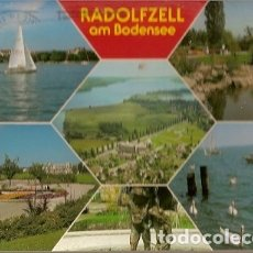 Postales: ALEMANIA & CIRCULADO, SALUDOS DESDE RADOLFZELL AM BODENSEE, SYKE 1992 (5777) . Lote 182806223