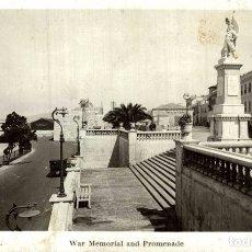 Postales: GIBRALTAR WAR MEMORIAL AND PROMENADE. Lote 183045022