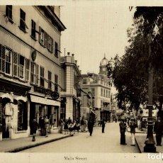 Postales: RPPC GIBRALTAR - MAIN STREET L ROISIN. Lote 183045026