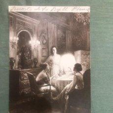 Postales: SALON DE PARIS - L. BARBUT DAVRAY - APRES DINER - CIRCULADA EN ESPAÑA 1929 -. Lote 183463288