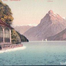 Postales: POSTAL SUIZA - TELLSKAPELLE - GITSCHEN - URIROTSTOCK - PHOTOGLOB ZURICH 2140 PZ. Lote 183772103