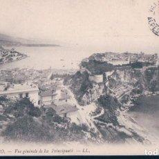 Postales: POSTAL MONACO - VUE GENERALE DE LA PRINCIPAUTE - LL. Lote 183772703