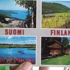 Postales: POSTAL FINLANDIA SUOMI FINLAND 1974 ESCRITA. Lote 183833047
