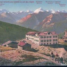 Postales: POSTAL SUIZA - GEMMI HOTEL WILDSTRUBEL 2329 M MIT DEN ALPEN - 5678 PHOTOGLOB ZURICH - PZ. Lote 183993752
