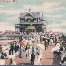 Postales: POSTAL INGLATERRA - THE PIER - LOWESTOFT. Lote 183994643