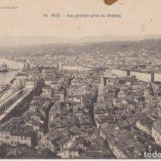 Postales: FRANCIA NIZA VISTA GENERAL1908 POSTAL CIRCULADA. Lote 184007770
