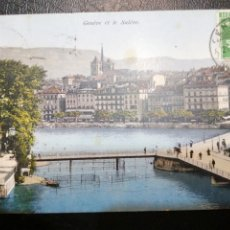 Postales: SUIZA GENEVE ET LE SALEVE. Lote 184031342