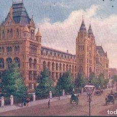 Postales: POSTAL LONDON - NATURAL HISTORY MUSEUM - SOUTH KENSINGTON - TUCK & SONS OILETTE. Lote 184078516