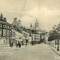 Postales: MONS RUE ANDRE MASQUELIER. Lote 185656180