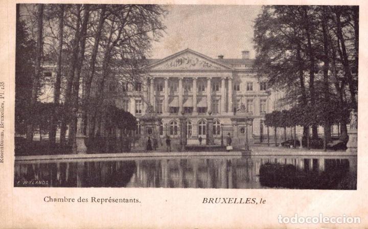 CHAMBRE DES REPRESENTANTS BRUXELLES (Postales - Postales Extranjero - Europa)