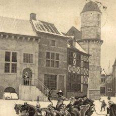 Postales: LIÈGE 1905 --- EXPOSITION -- VIEUX LIÈGE : PLACE AUX CHEVAUX ET TOUR MAISON WIERTZ DINANT. Lote 185659176