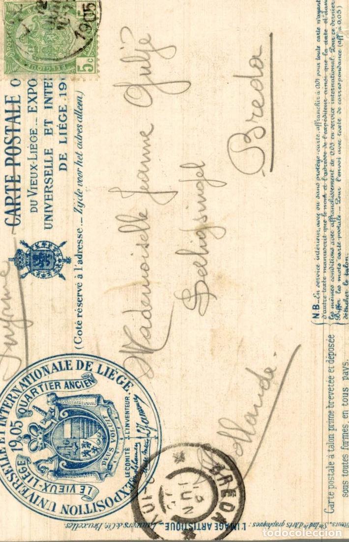 Postales: Liège 1905 --- Exposition -- Vieux Liège : - Foto 2 - 185659177