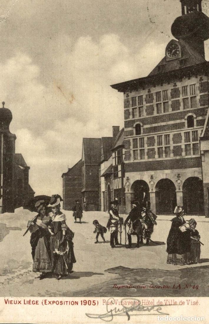 LIÈGE 1905 --- EXPOSITION -- VIEUX LIÈGE : (Postales - Postales Extranjero - Europa)