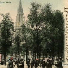Postales: ANVERS PLACE VERTE. Lote 185664272