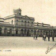 Postales: TIRLEMONT LA GARE. Lote 185674852