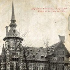 Postales: EXPOSITION UNIVERSELLE LIEGE 1905. Lote 185675856